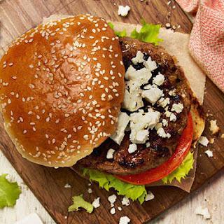 Lamb Burgers With A Feta Twist