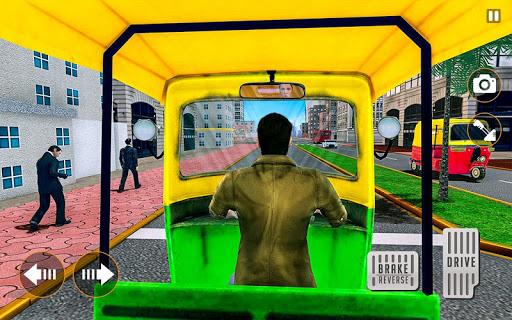 City Tuk Tuk Rickshaw Driver 2019 screenshot 7