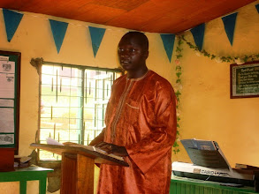 Photo: Brother Emmanuel is the music director at Bible Baptist Church. He and his wife are expecting their first child this month!