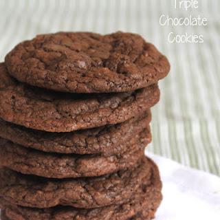 Triple Chocolate Cookies #OXOGoodCookies