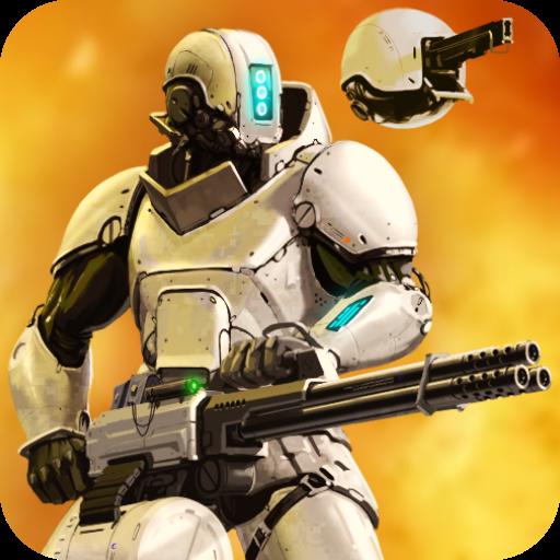 CyberSphere: Online Sci-fi shooter - APK MOD RACK - Dinheiro Infinito