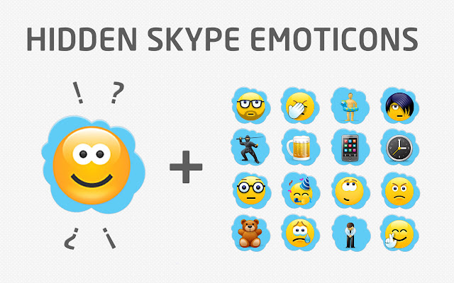 Get codes of hidden skype emoticons and smileys in one click pictures
