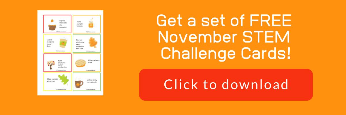 november stem challenge cards