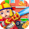 Firefighters Fire Rescue Kids - Fun Games for Kids icon