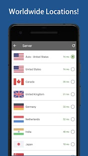 VPN One - Free Proxy Server Screenshot