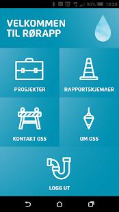 RØRAPP - náhled