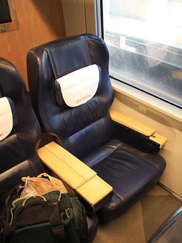 JR北海道 261系「宗谷」_05 グリーン車 シート