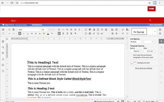 DocsWork Editor for documents DOC & DOCX