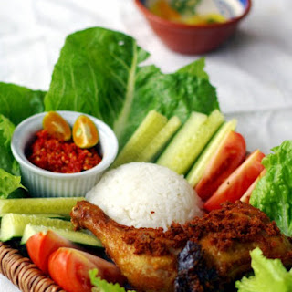 Ayam Goreng Kuning Recipe (Indonesian Yellow Fried Chicken).
