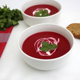 Thai Coconut Beetroot Soup
