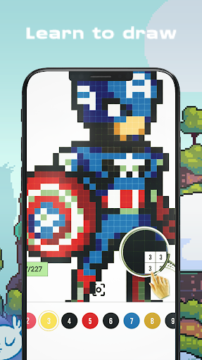 Color Pixel - Super Heroes for PC
