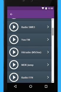 Radio Vest App - náhled