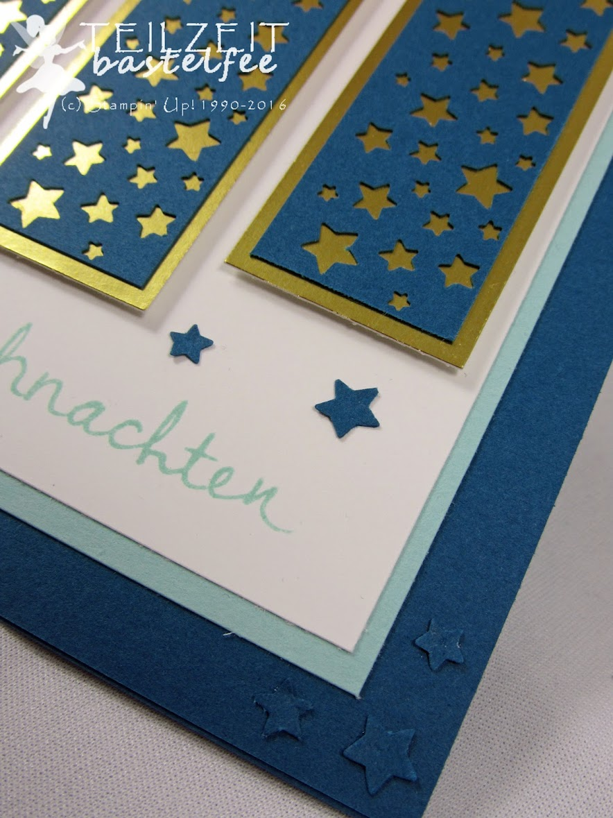 Stampin' Up! – In{k}spire_me 274, Sketch Challenge, Christmas, Weihnachten, Wünsche zum Fest, Sternenkonfetti, Confetti Stars Border Punch, Endless Wishes
