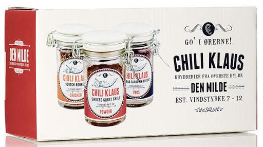 Milde – chiliflingor, pulver & torkade chilifrukter - vindstyrka 7-12 – Chili Klaus