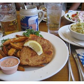 German Schnitzel.