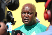 Pitso Mosimane, coach of Mamelodi Sundowns during the MTN8 2019 Mamelodi Sundowns Media Day at the Chloorkop, Chloorkop on the 16 August 2019.