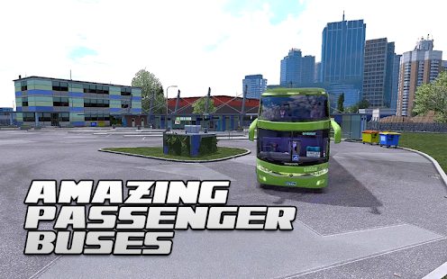 Tourist Bus Parking Transport Coach Driving Sim 3D - náhled