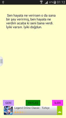 Hazır Mesajlar Doğum Günü Vs - screenshot