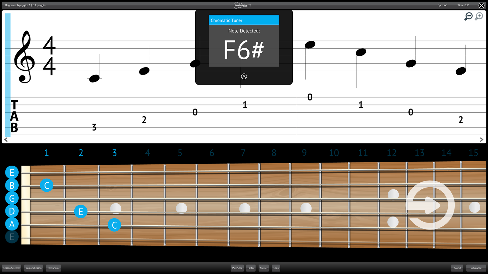 Learn Acoustic Guitar Lessons- screenshot