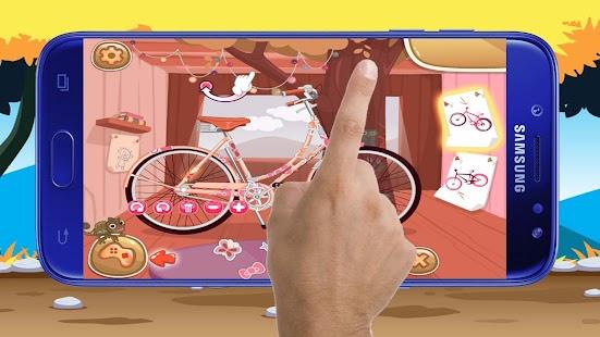 Princess Bike Games - Girls Games - náhled