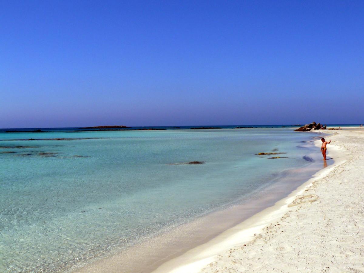 Spiaggia di Elafonissi Creta
