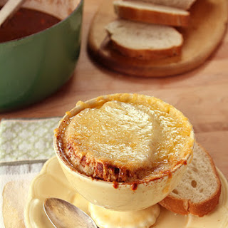French Country Short Rib Onion Soup.