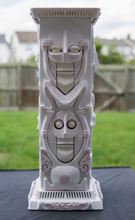 3d Create Your Own Room: 3D Printed Animatronic Talking Tiki Statues