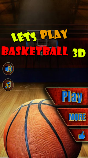 Lets Play Basketball 3D