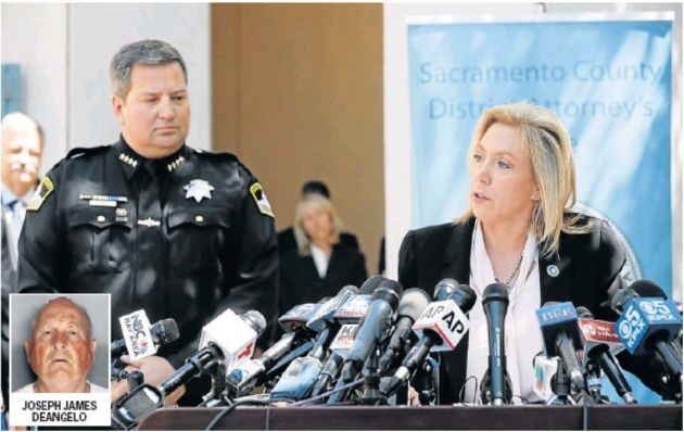 Sacramento Sheriff Scott Jones and District Attorney Anne Marie Schubert announce the arrest