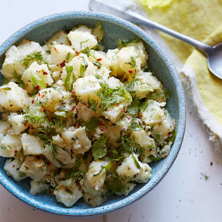 Turkish Potato Salad with Dill and Mint Recipe