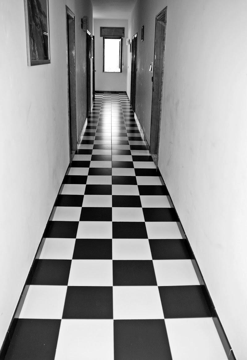 non c'è nessuno neanche  in corridoio  di Luciano Fontebasso