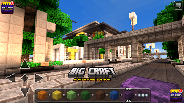 Big Craft Building Crafting Games
