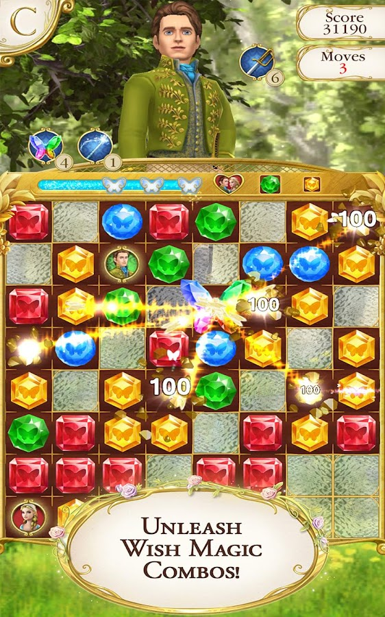 Cinderella Free Fall- screenshot