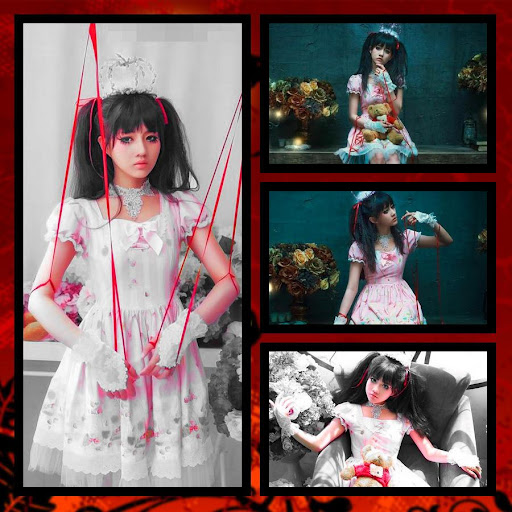 Halloween Grid Photo Collage