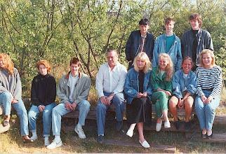 Photo: Abschlußklasse 10c (1988)