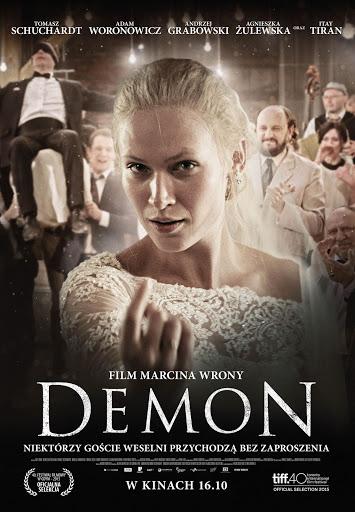 Polski plakat filmu 'Demon'