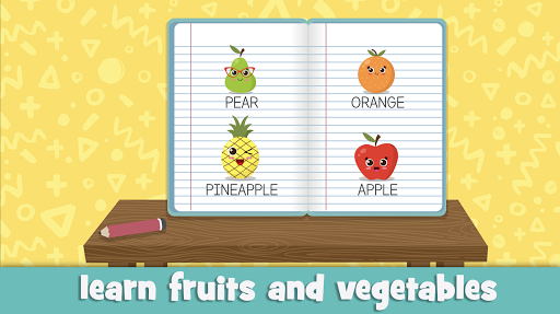 Learn fruits and vegetables - games for kids  screenshots 6