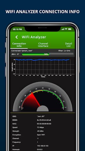 Wifi Password Recovery & Internet Speed Test screenshot 3
