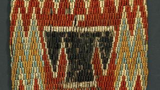 imagen de un tejido artesanal visto de cerca