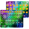 Color Love Emoji Keyboard Skin