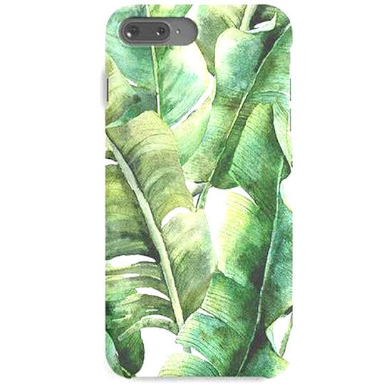 Mobile Case Green Leaves - iPhone X iPhone X/XS