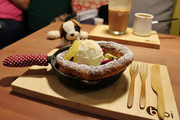 bibi pancake鬆餅.咖啡.茶 -鐵鍋鬆餅.厚煎鬆餅.台南不限時下午茶推薦