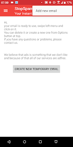 TempMail – Temporary Emails Instantly   StopSpam Apk Download For Android 1