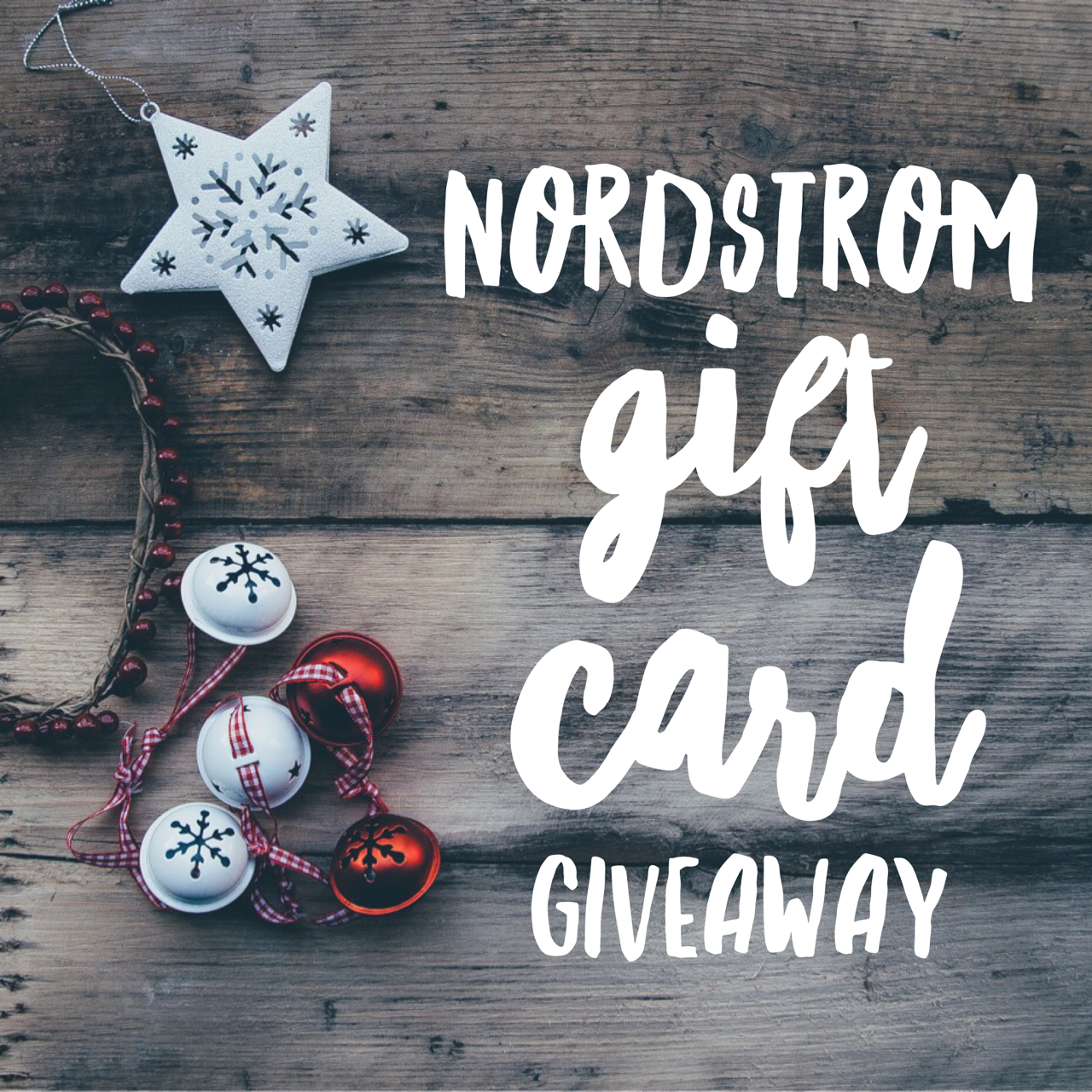 Nordstrom Gift Card Giveaway!