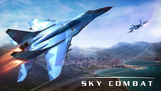 Sky Combat: war planes online simulator PVP Mod Apk Download For Android and Iphone 1