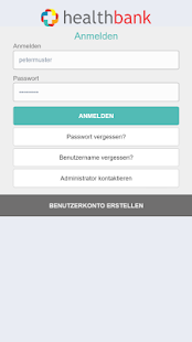 healthbank mobile – Miniaturansicht des Screenshots