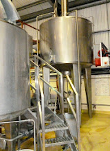 Photo: The brewing vessels are supplied by the Sheffield arm of Moeschle, just down the road in effect, and showcase the latest in top-fermenting brewing technology for that company