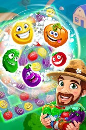 Funny Farm match 3 game APK screenshot thumbnail 5