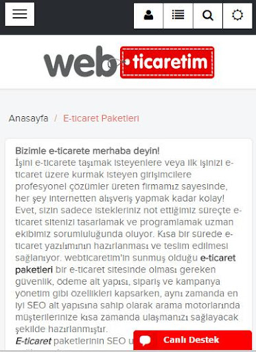 WebTicaretim