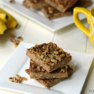 3 Ingredient Peanut Butter Banana Bars